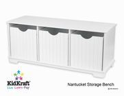KIDKRAFT Nantucket Storage Bench