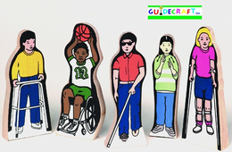 GUIDECRAFT SPECIAL NEEDS CHILDREN (5/SET)