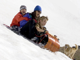 MOUNTAIN BOY SLEDWORKS Mountain Boggan Toboggan - Click to enlarge
