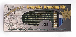 Kimberly Graphite Drawing Set No. 25