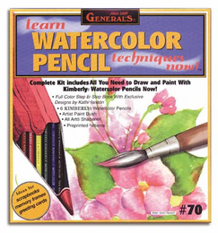 Learn to Watercolor Pencil Now Set