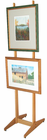 Xylem Design Double Sided Wood Easel 6'