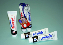 3 PACK SPECIAL - 2-PERMALBA WHITE & RES-N-GEL 150ML TUBES
