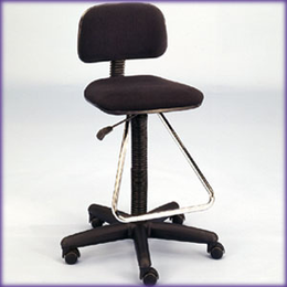 Studio Designs Maxima II Drafting Chair (Black)