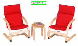 GUIDECRAFT Kiddie Rocker Chair Set - Click to enlarge