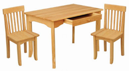KIDKRAFT Avalon Table and Chair Set - Click to enlarge