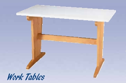 "Student Work Table - 60"" - Plastic"
