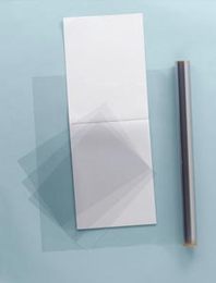 "Grafix� Clear-Lay� 19"" x 24"" x .005"" Vinyl Film (25 Sheets)"