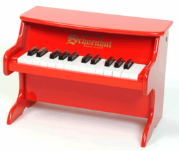 Schoenhut Tabletop�Pianos - 25�Key�My�First�Piano�II - Click to enlarge