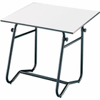 "Alvin� Integra Table Black Base 30"" x 42"""