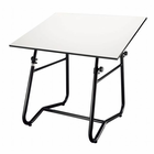 "Alvin� Integra Table Black Base 36"" x 48"""