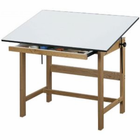 Alvin Titan Wood Table 36X48X37