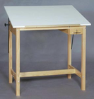 Alvin Wood 4 Post Table 36X60X37H