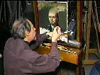 "DAVID A. LEFFEL Art Instruction (DVD) - ""Portrait of Lewis"" (2 hours, Oil)"