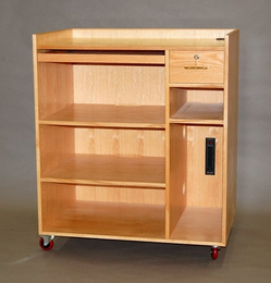 SMI COMPUTER CABINETS, Oak - Click to enlarge