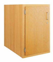 Wood Low Base - single door-8 Wt-52
