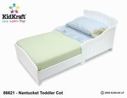 KIDKRAFT Nantucket Toddler Cot - Click to enlarge