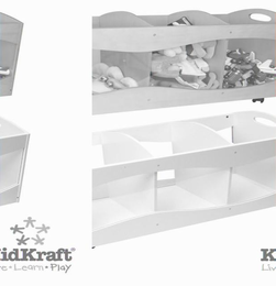 KIDKRAFT See Thru Bins - Click to enlarge