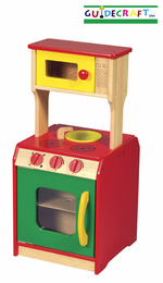 GUIDECRAFT Toddler Wooden Kitchen Island - Click to enlarge