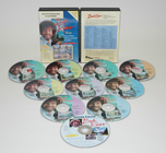 BOB ROSS 10 DVD SET
