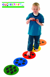GUIDECRAFT Multi Match Sensory Discs - Click to enlarge