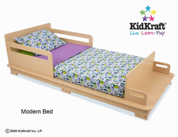 KIDKRAFT Modern Toddler Cot - Click to enlarge