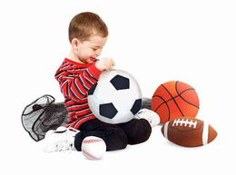 Melissa & Doug Sports Balls in a Mesh Bag - Plush - Click to enlarge