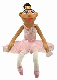 Melissa & Doug Ballerina Puppet (Full-Body) - Click to enlarge