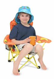 Melissa & Doug Clicker Crab and Flex Octopus Chair - Click to enlarge