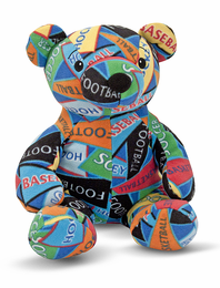 Melissa & Doug Zack Sports Bear - Click to enlarge