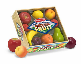Melissa & Doug Play-Time Produce Fruit