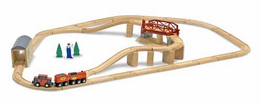 Melissa & Doug Swivel Bridge Train Set - Click to enlarge