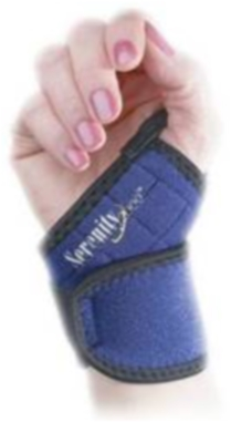 Magnetic Wrist Support - 1 Each