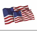 5' x 9.5' 100% Cotton American Flag - Burial Casket Flag
