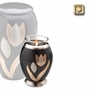 Tealight Candle Tulip Brass Keepsake Cremation Urn