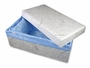 Pet Casket - Biodegradable and  Fleece Lined - 19 Inches
