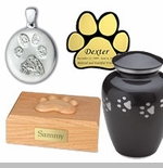 Paw Print Pet Memorial Items