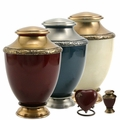 Artisan Brass Cremation Urn Series