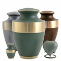 Lineas Brass Cremation Urn Series
