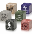 Small Cube Urns - 28 Colors - Engravable