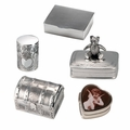Sterling Silver Keepsake Cremation Urns