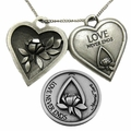 Memorial Tear� Pewter Token Jewelry