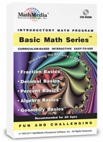 Basic Math for Adult Students<br>Prepare for the ABE/GED/NET/Praxis<br>Accuplacer/College Placement Exams<br>(5 Programs)