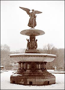 Bethesda Fountain, Central Park Original Photo Print