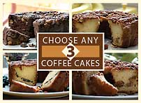 Custom Choice Traditional Coffee Cake Sampler