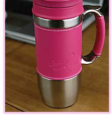 Breast Cancer Research Foundation Travel Mug