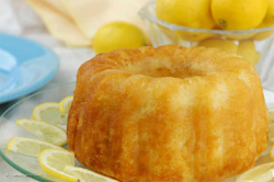 Downey's Lemon Vodka Cake