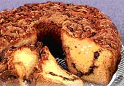 My Grandma's No Walnut Cinnamon Coffee Cake