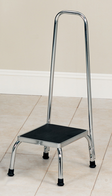 Step Stool, Foot Stool with Safety Bar Hand Rail