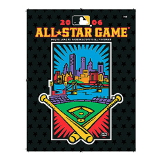 2006 All-Star Game Program - Artwork Cover